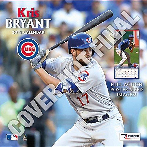 6423376368a Chicago Cubs Kris Bryant 2019 Calendar