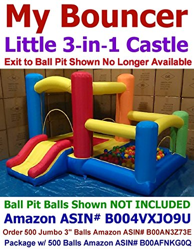 My Bouncer 3-in-1 Little Castle Bounce 118