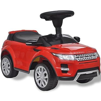 vidaXL Voiture à pousser rouge avec musique pour enfant Land Rover 348