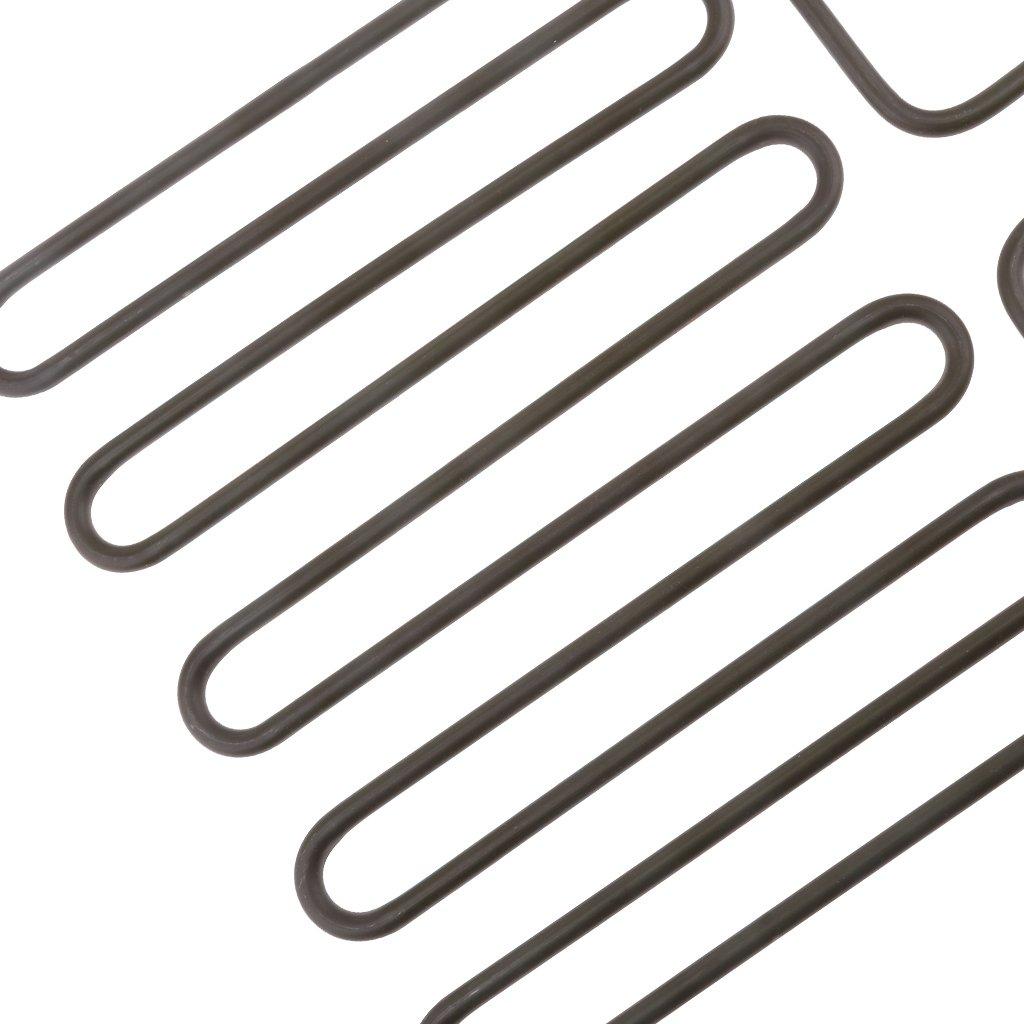 2pcs Fenteer Spa Heizelement Heizspirale F/ür Saunaofen Spas Hot Tub Heizung Spa Elemente Size ausw/ählbar