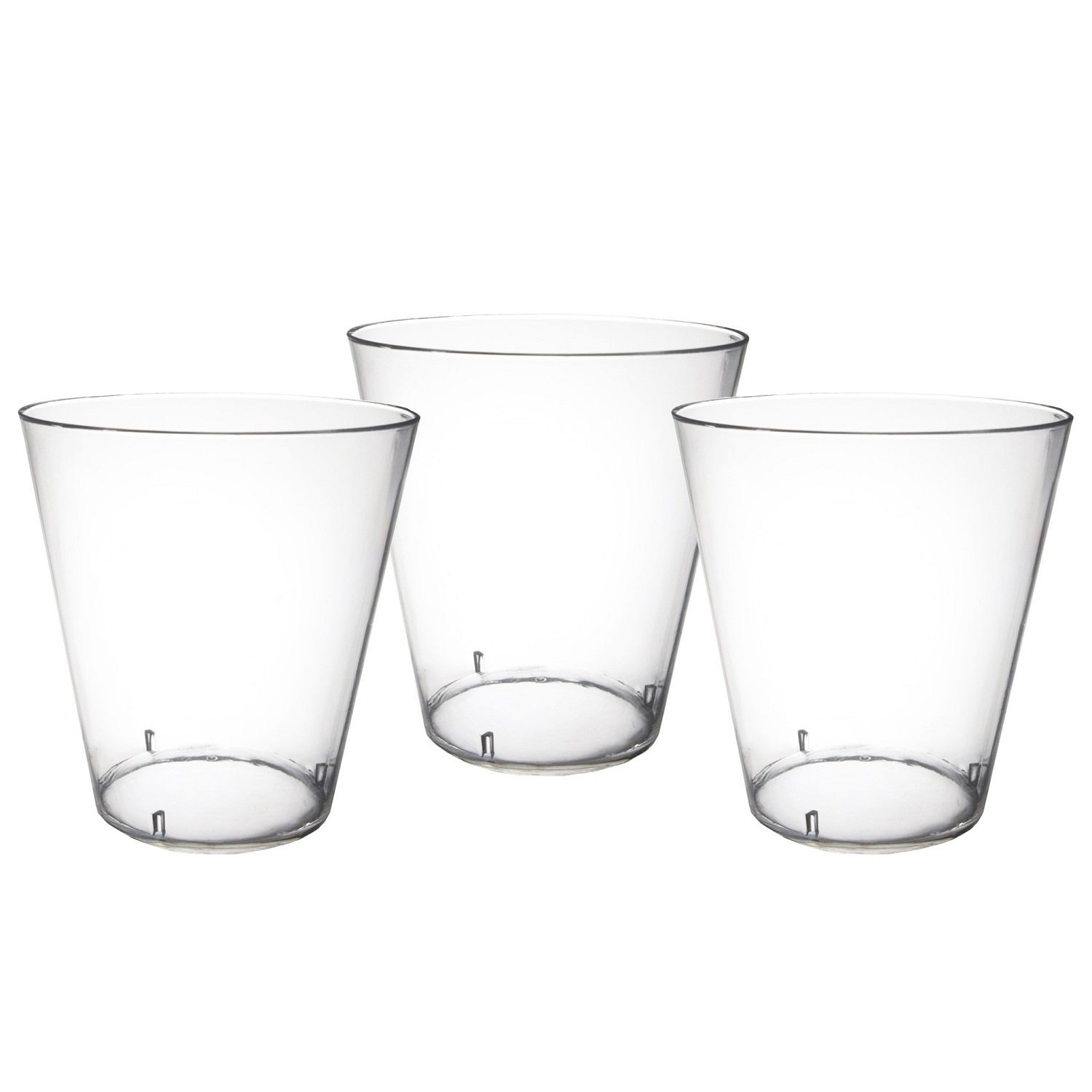Party Essentials Hard Plastic 2-Ounce Shot/Shooter Glasses, Clear, 200-Count, Clear by Party Essentials
