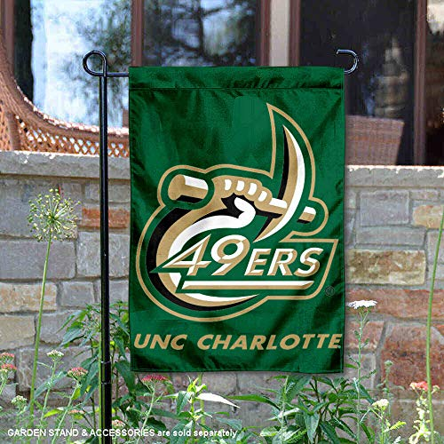 UNC Charlotte Garden Flag and Yard Banner ()