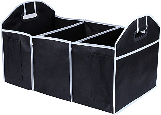Car Trunk Organizer Cargo Suv Truck Storage Groceries Folding Collapsible Box US