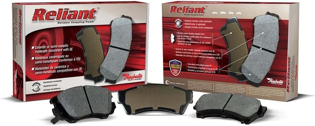 1 Pack Raybestos MGD551CH Reliant Brake Pad Set