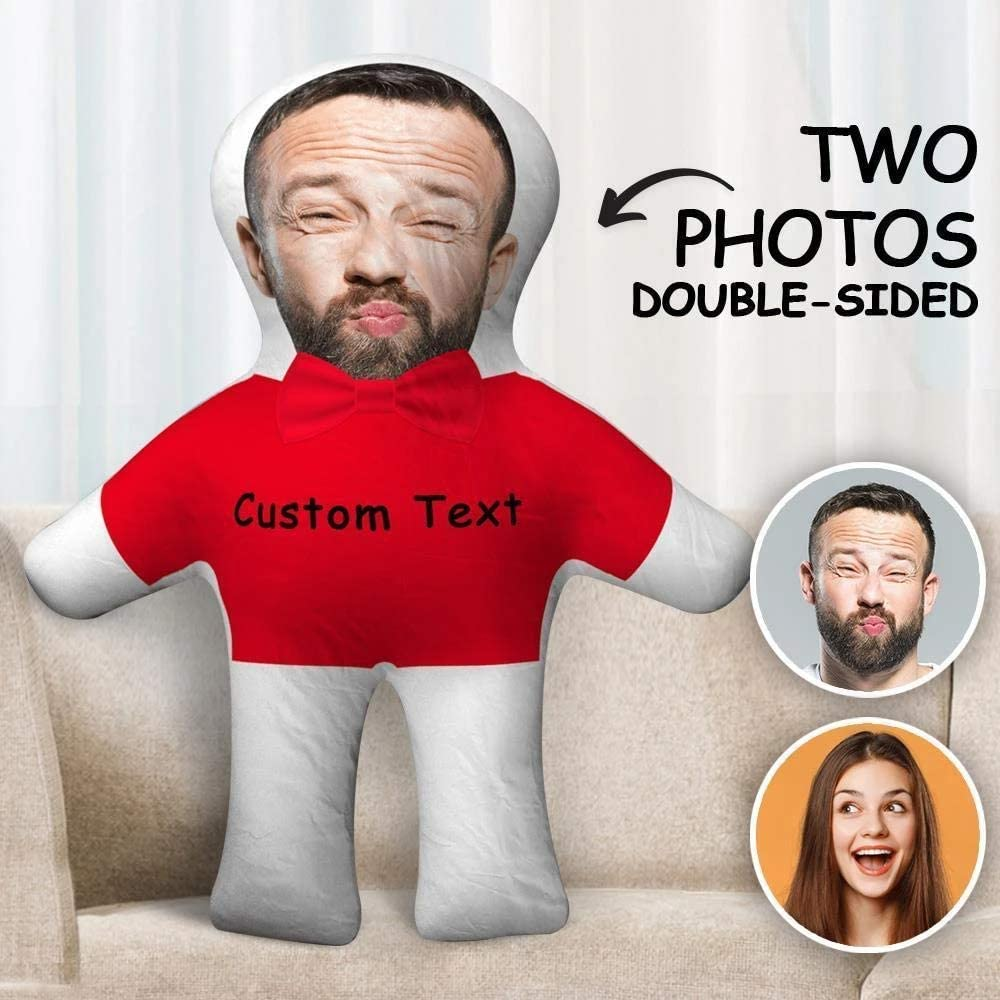 How about something hilarious for your anniversary?A custom face pillow can be an interesting gift for couples, especially long-distance ones. With this cute present, your lover can cuddle you whenever she wants, enabling your lover to feel your warmth at her side.