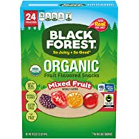 Black Forest Organic Fruit Snacks, Assorted Flavors, 0.8 Ounce Bag (Pack of 24)