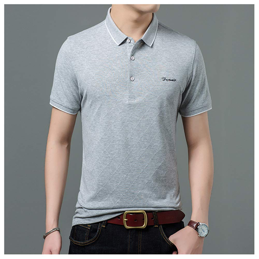 ZLL8 Polo Shirt Mens Regular Edition Fashion Cotton Breathable Fathers Day