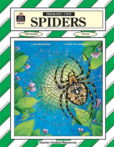 SPIDERS Thematic Unit-  Reproducible  Intermediate by Brand: Sony