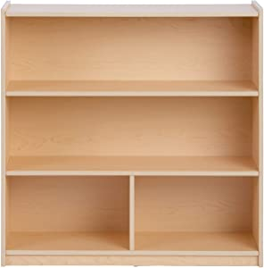 Guidecraft Standard 4 Shelf Wooden Bookcase (36