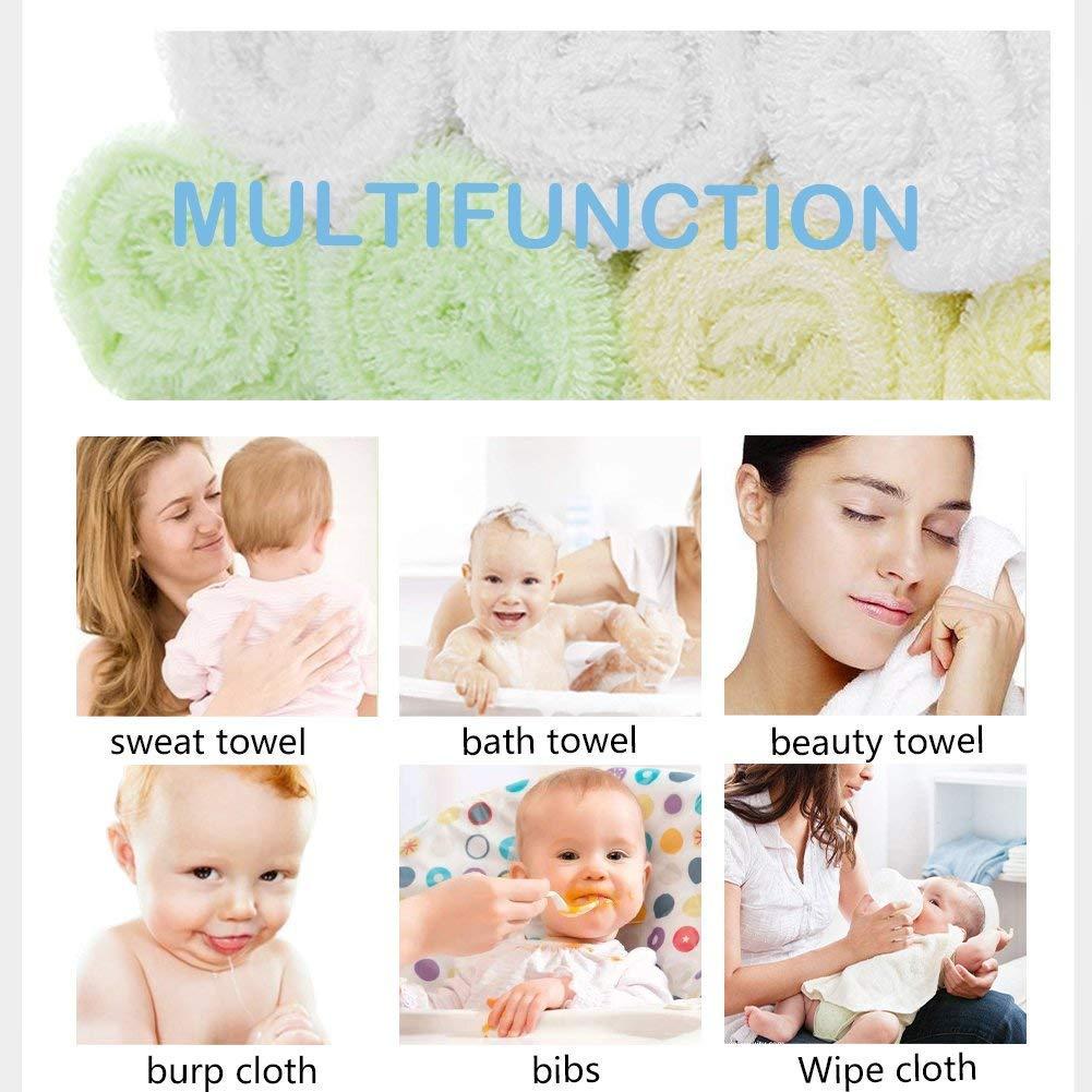 Muselina bebe algodon, Toallas suaves de muselina para bebés, varias funciones (9 paquete): Amazon.es: Bebé
