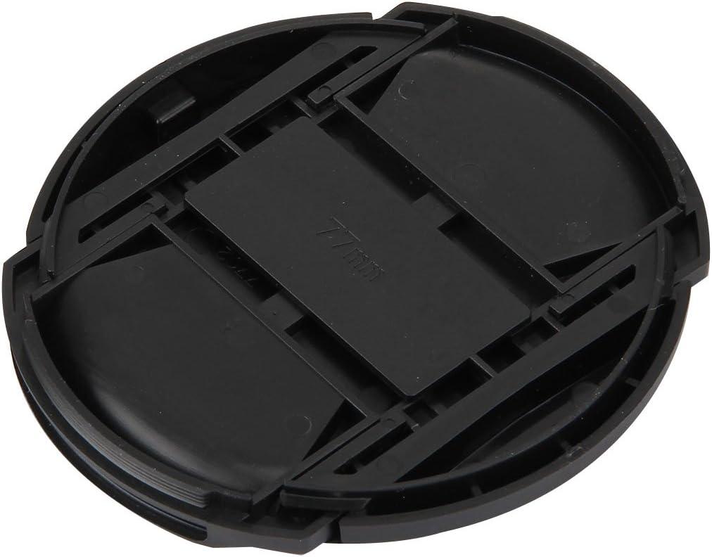 HyxppthiAAccessory Hyx 77mm Center Pinch Camera Lens Cap Black Lens Cap