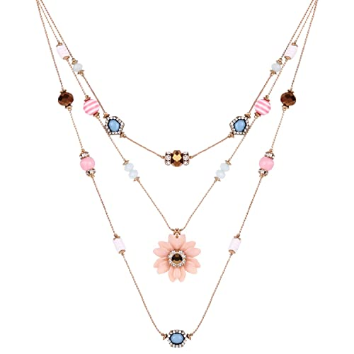 6c9728cdc Image Unavailable. Image not available for. Color: LOHOME Women's Fashion  Necklaces ...