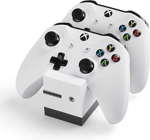 snakebyte Xbox One TWINCHARGE X - blanco - cargador / estación de carga para Xbox One S, X / Xbox