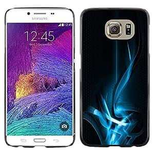 iKiki Tech / Estuche rígido - Abstract Blue Smoke - Samsung Galaxy S6 SM-G920