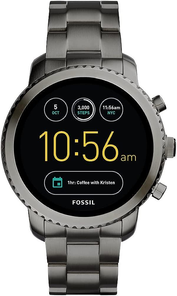 Fossil Reloj Hombre de Digital con Correa en Acero ...