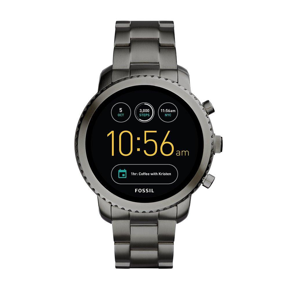 e570bfd881d Amazon.com  Fossil Q Gen 3 Smartwatch - Smoke Explorist  Watches