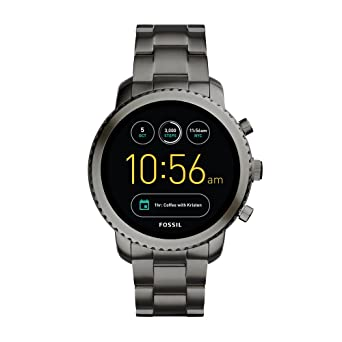 f40943afc481 Amazon.com  Fossil Q Gen 3 Smartwatch - Smoke Explorist  Watches