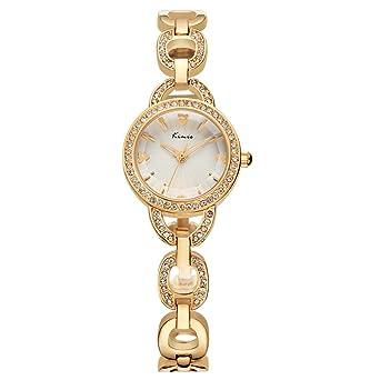Los relojes de la aleación de moda elegante Wishar KIMIO mujeres reloj de pulsera, relojes de señoras únicos fresco: Amazon.es: Relojes