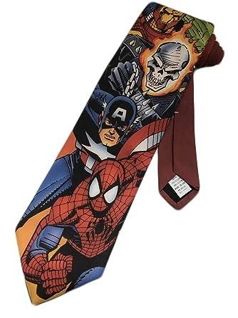 Ralph Marlin - Corbata para hombre, diseño de Spiderman de Iron ...