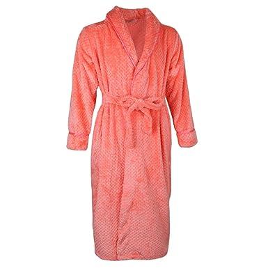 Prettyia Long Bath Robe Men Womens Plush Knit Soft Fleece Bathrobes Night  Robes Dressing Gown - bfdf31aa0