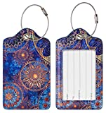 Chelmon Luggage Tags Label Cruise Instrument Bag Case Tags(02 circle B)