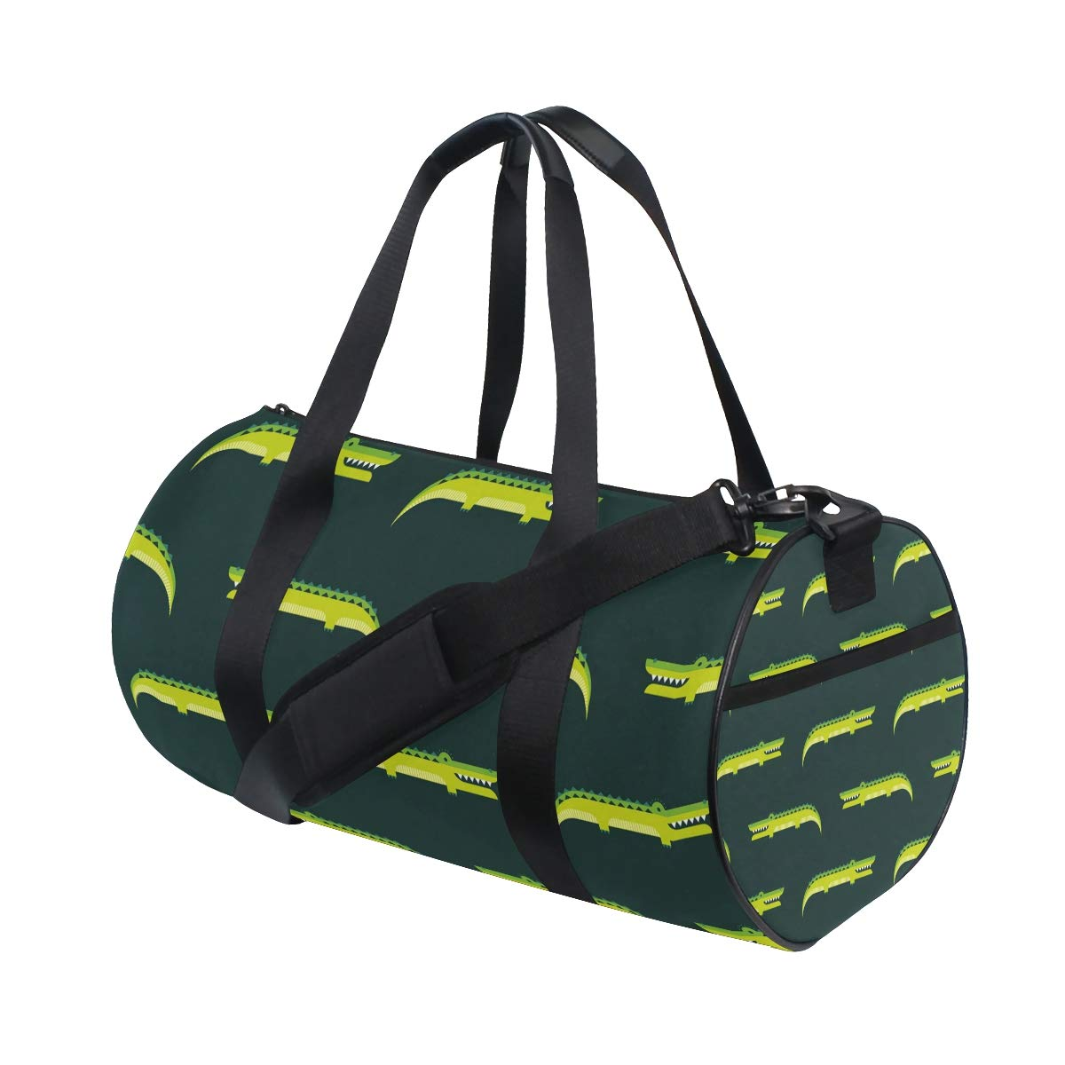 Unisex's Crocodile Duffel Bag Travel Tote Luggage Bag Gym Sports Luggage Bag