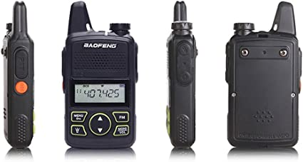 Amazon.com: Original Baofeng bf-t1 Mini Walkie Talkie UHF ...