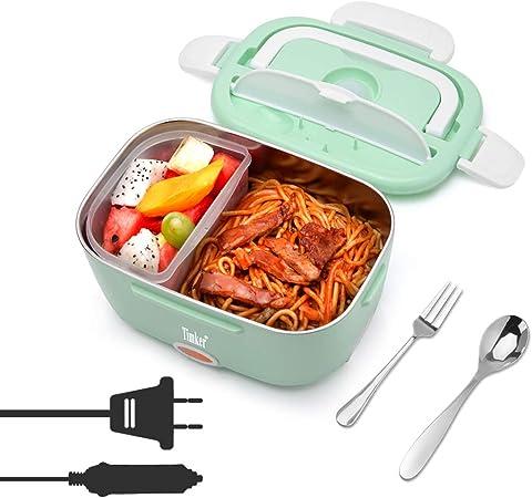 Scaldavivande porta pranzo termico contenitore elettrico riscalda scalda cibo