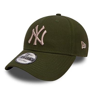 New Era 9forty New York Yankees Herren Kappe Grün  Amazon.de  Bekleidung 11bf74d384