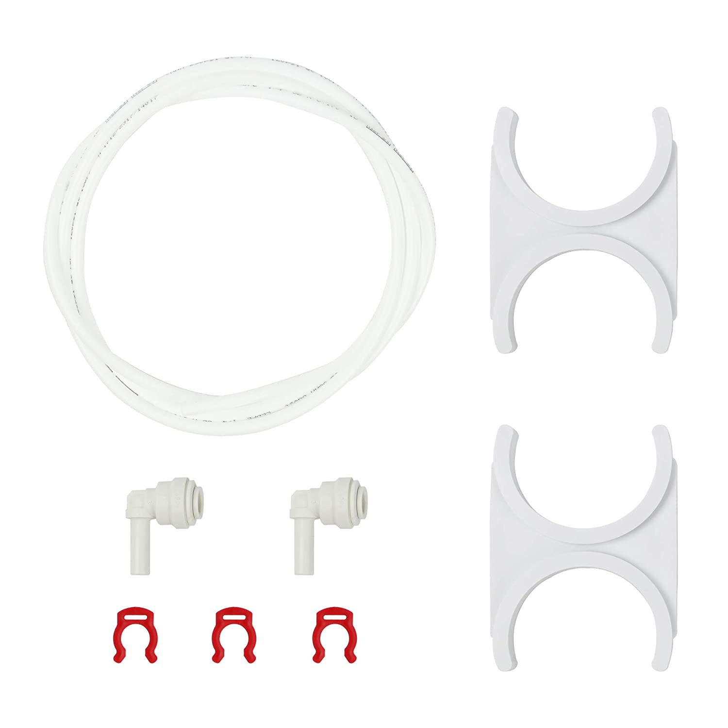 """APEC Water Systems ADDON-QC Reverse Osmosis System Add On Kit For 1/4"""" Quick Connect Water Filter Installation"""