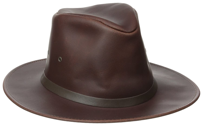Henschel Safari Crushable Waxed Cowhide Hat Henschel Hats