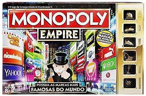 Monopoly Hasbro Gaming - Juego de Mesa Empire (B5095190) (versión ...