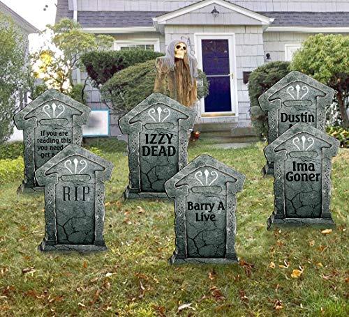 Plastic Tombstones Halloween (LAOSSC 21