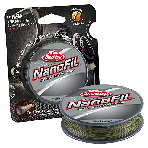 150 Green Yard Braid Spool - Berkley NanoFil Uni-filament Fishing Line