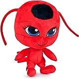 Miraculous Marienkäfer Plüsch, Weiche Spielzeug, Original, 3 verschiedene Charaktere verfügbar (Ladybug) (Tikki (Red))