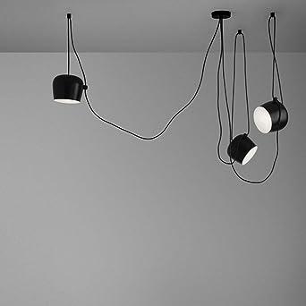 Ceiling Light Moderne Mehrere Verstellbar DIY Kronleuchter Basteln Kreative  Spinne Trommel Licht Anhänger Höhenverstellbar Loft Multihead