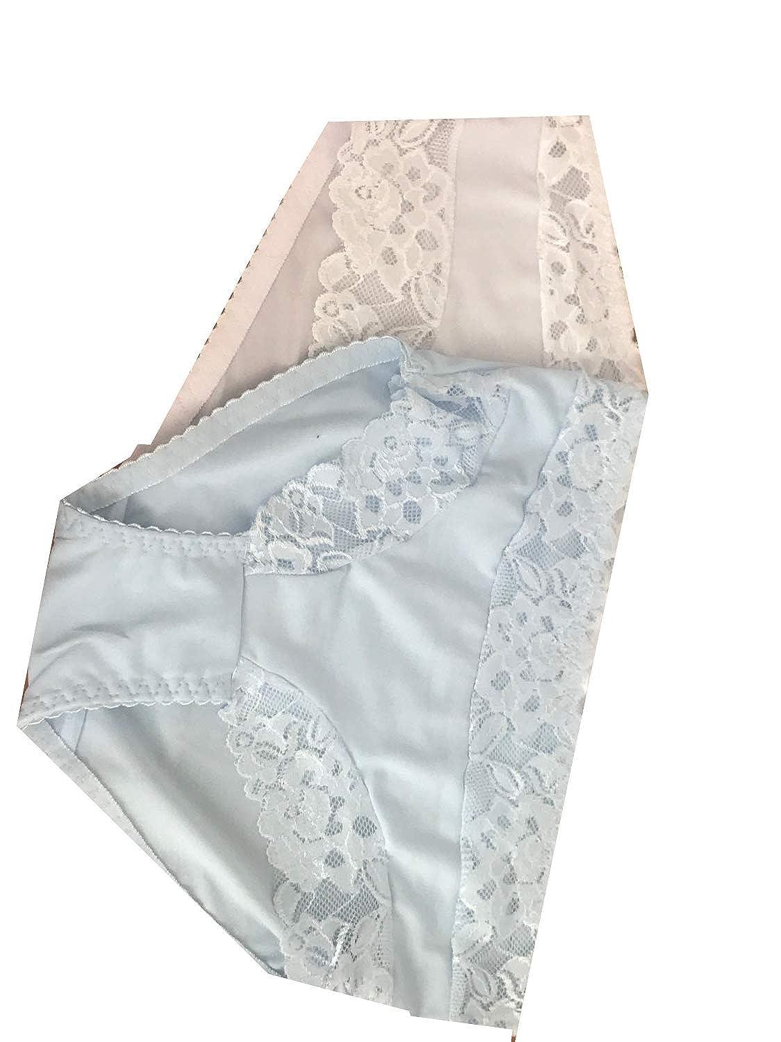 Calzoncillos /íntimos de Encaje para Mujer Diemme Tallas Grandes 3 Unidades Cintura Alta