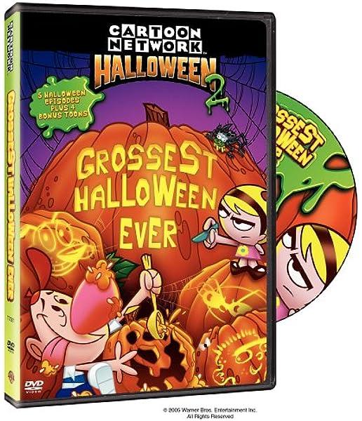 Amazon Com Cartoon Network Halloween 2 Grossest Halloween Ever