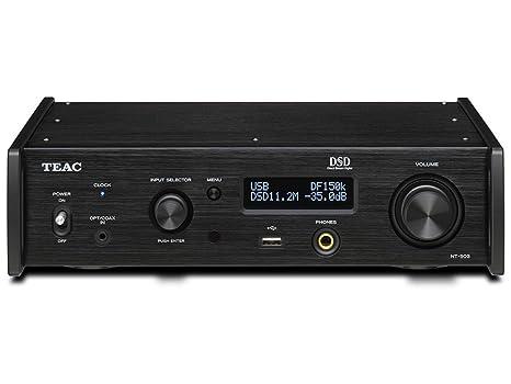 TEAC NT-503 Dual-Monaural USB DAC/Network Player (Black)