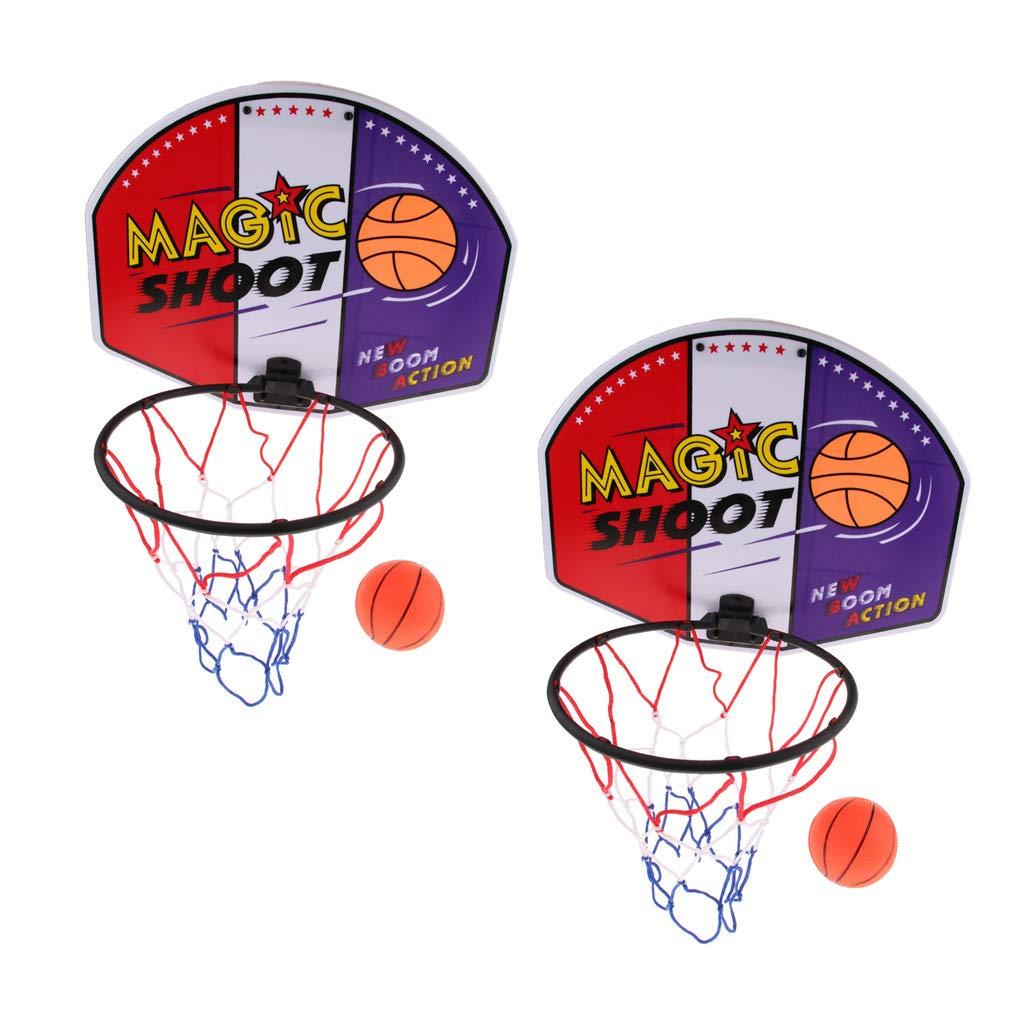 2 Pcs Canasta de Baloncesto para Niños y Adultos en Casa y Oficina ...