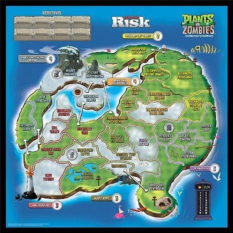 Risk: Plants vs. Zombies Collectors Edition: USAopoly: Amazon.es: Juguetes y juegos