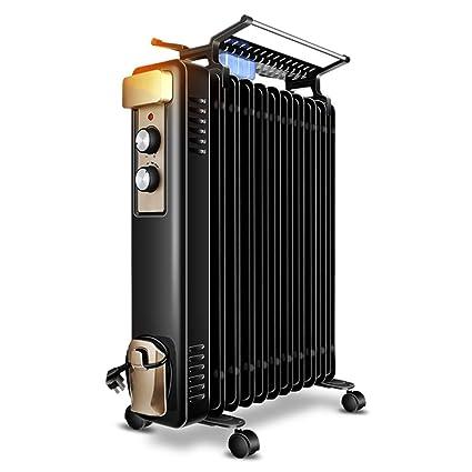 DW&HX Radiador de Aceite, Protección contra el sobrecalentamiento Portátil Radiador Calefactor Electrico Silencioso Calentador de