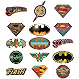 Justice League of America 128 Stickers Booklet Superman, the Flash, Green Lantern, /& Batman F.A.B. Starpoint