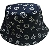 ACVIP Women s Checkered Fishing Bucket Hat Headwear (Black)  Amazon ... 72521d9537e4