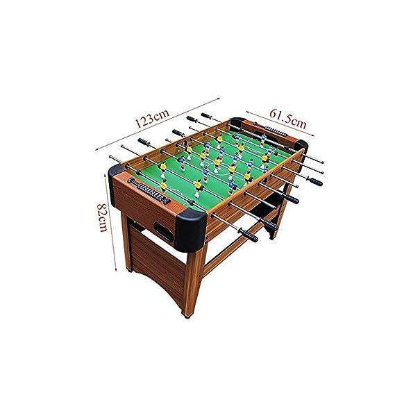 SYXX Los niños mesa de escritorio de fútbol, fútbol Foosball Mini Juego de Mesa, mesa de fútbol, de los niños juguetes educativos, regalos de los niños, for niños Juegos de deportes: Amazon.es: