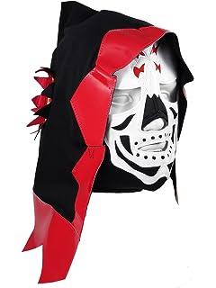 LA PARKA Adult Lucha Libre Wrestling Mask (pro-fit) Costume Wear - Red