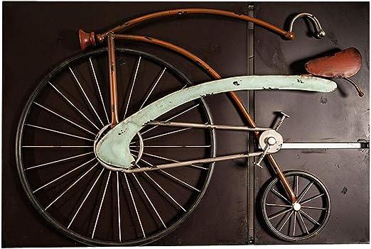 Estilo rústico Vintage Bicicleta Patrón Decoración de Hierro ...