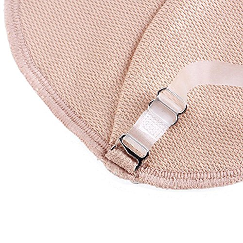 Niome 1 Pair Underarm Pad Summer Dress Clothing Washable Armpit Sweat Absorbing Guards Shoulder Strap Invisible Convenient Women Girl by Niome (Image #4)