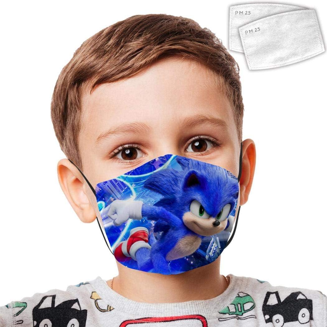 KAIvvv-47 Mouth Protective Bandanas Jo-Jo Si-wa Anti-Dust Washable Reusable Windproof Boys Girls Kids