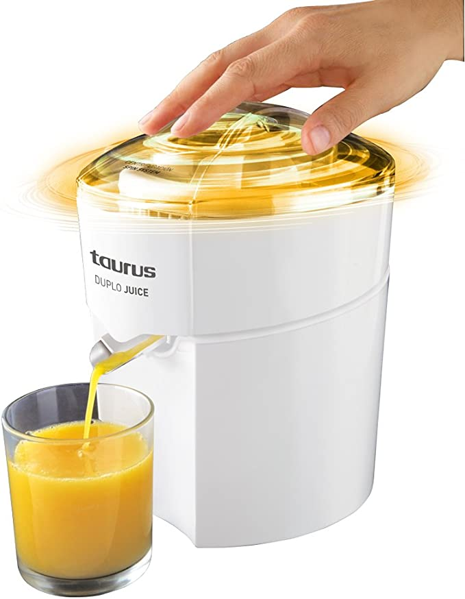 Taurus Duplo Juice 924.174, 30 W, 1 Liter, 0 Decibelios, PU|Acero ...